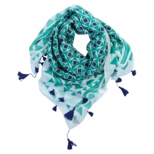 Curacao Cotton Scarf at hardtofind $49.00